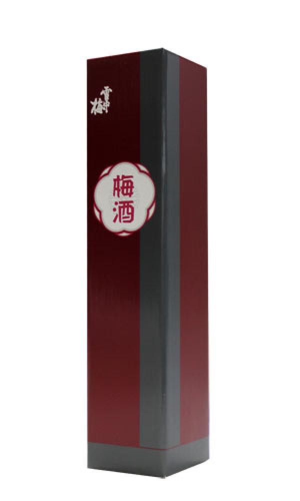 画像1: 雪中梅 梅酒用化粧箱 (1)